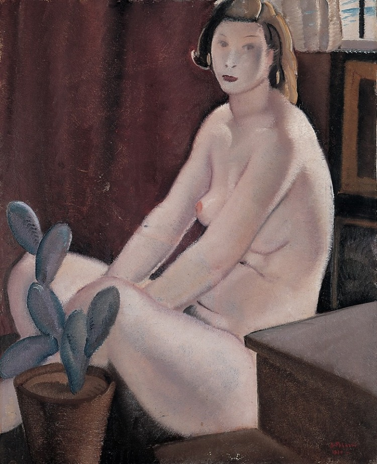 The Model  -   Bernardino Palazzi , 1930
