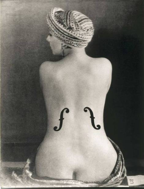 Le Violon d'Ingres, 1924 by Man Ray