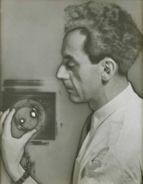 Man Ray Self-Portrait with Camera, 1932