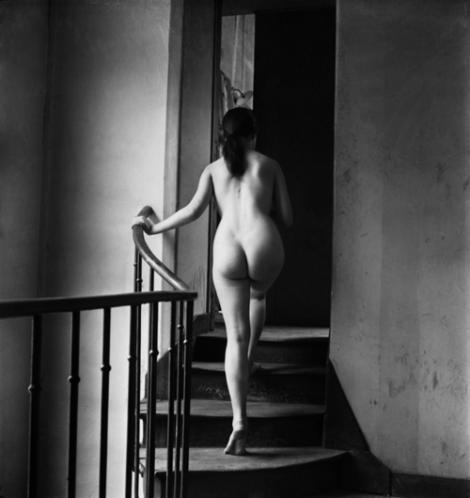 Emile Savitry-Nu à l'académie de la Grande Chaumière à Montparnasse, 1950-1951