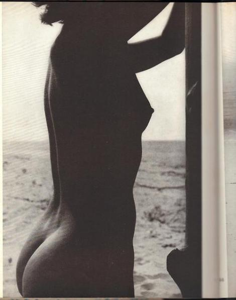 Fritz Henle - Beach Nude (Torso against light), c.1954