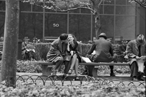 Park Benches - Love is Everywhere Kubrick 1946