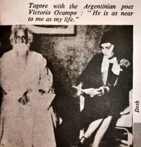Tagore with Victoria Ocampo