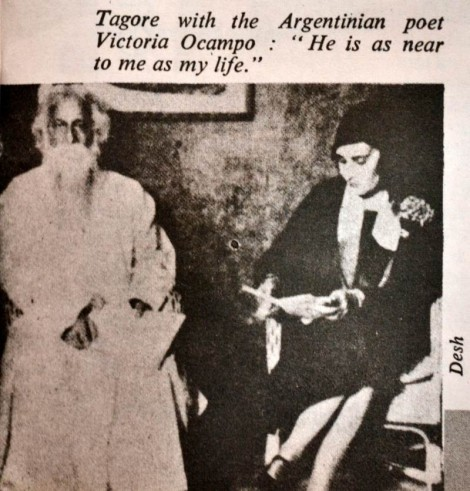 Tagore with Victoria Ocampo