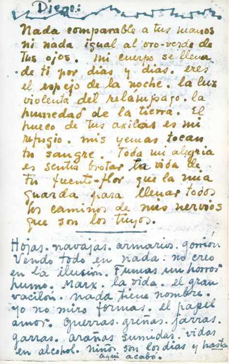 Frida Kahlo Love Letters