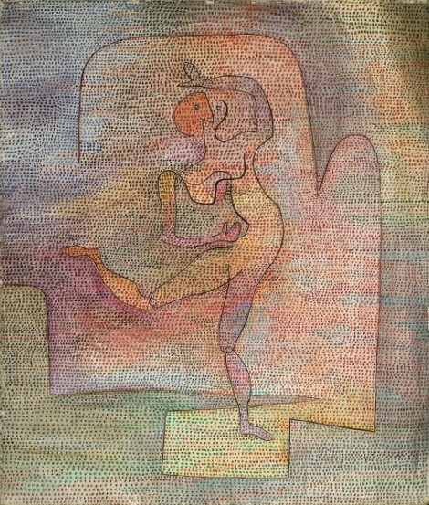 Dancer: Paul Klee, 1932