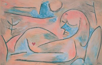 Paul Klee - Sommeil d'hiver  Winter's Sleep
