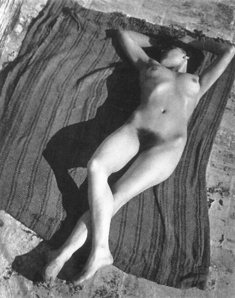 Tina by Edward Weston