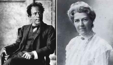 Gustav Mahler and Natalie Bauer-Lechner.