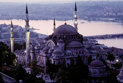Istanbul, Turkey, Süleymaniye Mosque, 1986 by James Stanfield