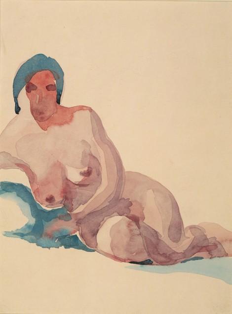 Nude No. 1,Georgia O'Keeffe 1917
