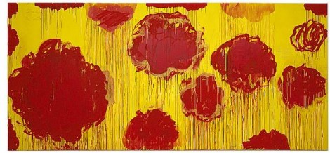 Untitled (Peonias series) by Cy Twombly