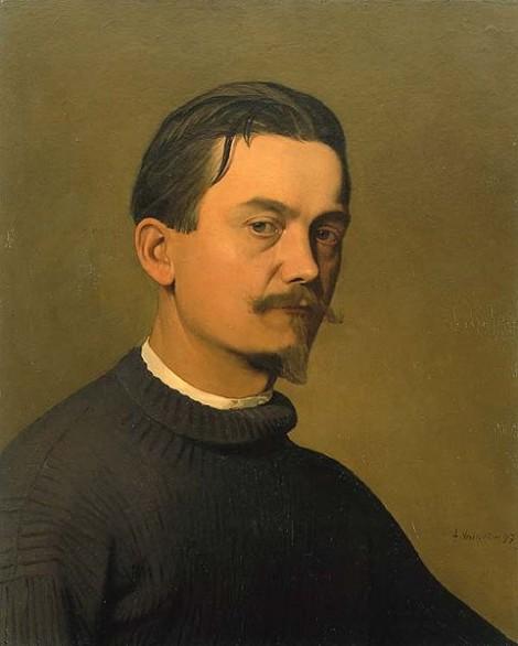 Félix Vallotton, Mon Portrait, 1897