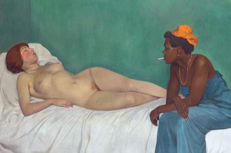 """""""La Blanche et la Noire"""", de Félix Valloton -1913"""