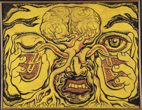Les vases communicants - Diego Rivera 1938