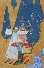 Bluebeard watercolor, gouache and graphite circa 1925