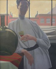 Portrait of Holland oil on canvas circa 1926