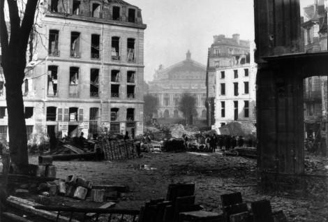 Charles Marville - percement de l'avenue de l'Opéra (1877)
