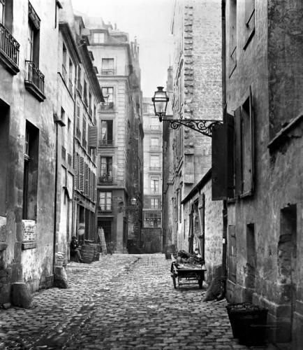 Rue Basse des Ursins Paris 1858