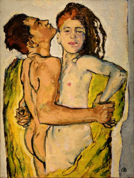 Lovers, c 1913.  Leopold Museum