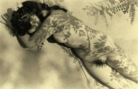 Nude from The Magician's Newspaper by Kansuke Yamamoto