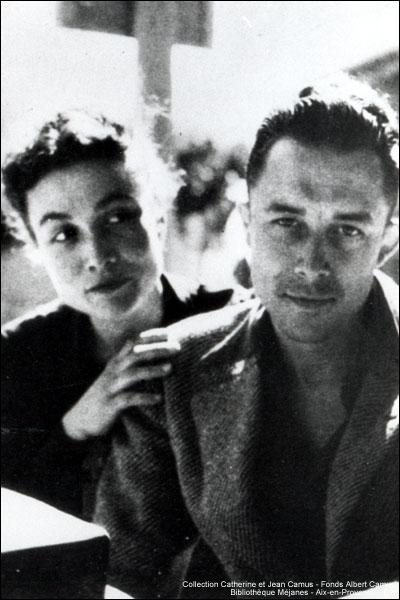 Albert Camus & Francine Faure