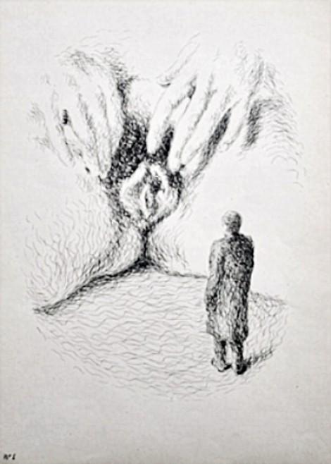 Madame Edwarda by René Magritte, 1946