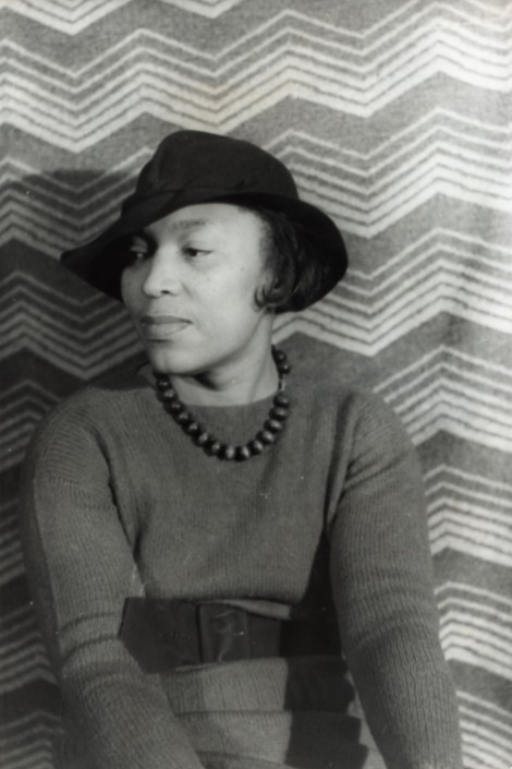 Zora Neale Hurston, photo by Carl Van Vechten (1938)