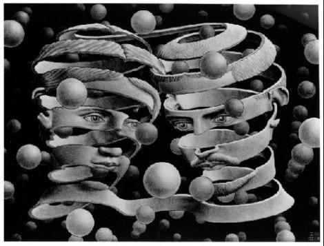 The Phenomenology of Spirit – Hegel / M. C.Escher