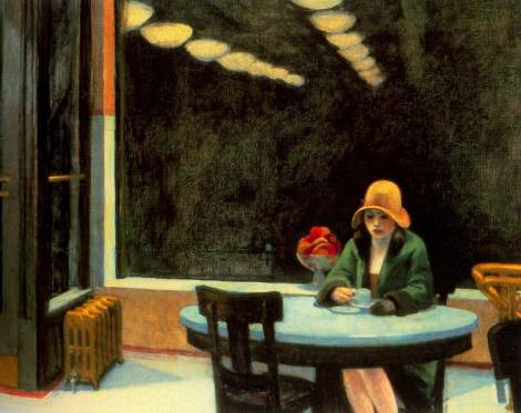 Edward Hopper : Automat