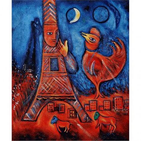 marc chagall bonjour paris 1939