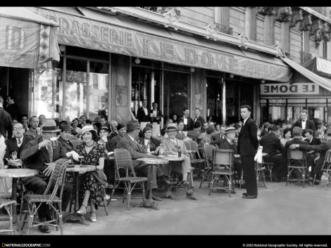 Paris is a moveable feast – ErnestHemingway