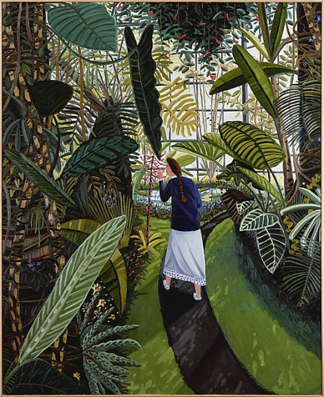 David Bates - 'The Conservatory' - 1985