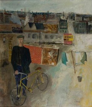 Simon Quadrat, The Cyclist and the Town
