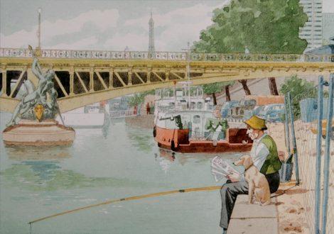 Apollinaire Guillaume – Pont Mirabeau / Jean LouisTrintignant